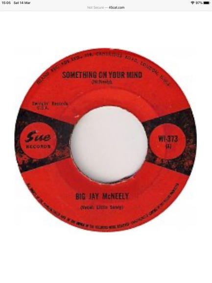 Big Jay McNeely Jamaican Red & Black